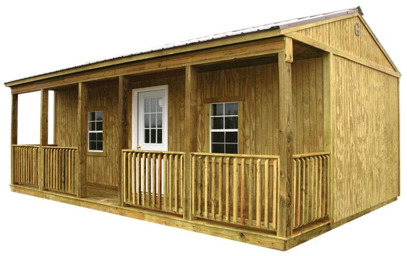 Side Porch Cabini