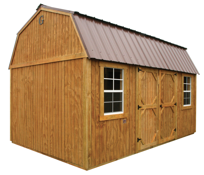 Texas Strong Portable Buildings - Wood Storage Buildings